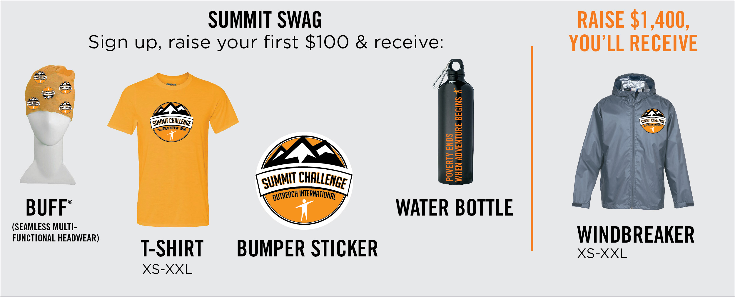 Summit Challenge SWAG