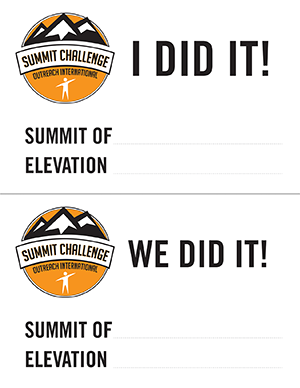 Summit Challenge - I Did It!